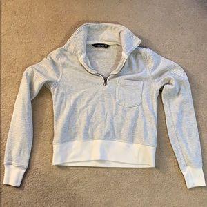Abercrombie & Fitch quarter zip sweatshirt, XXS